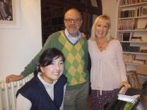 Yuko, Mario and Catharina